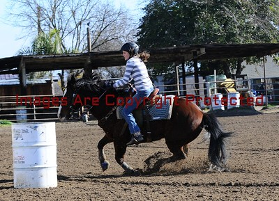 New Years Day Barrel Race  At  Diamond Bar Arena Open Draw 31-60
