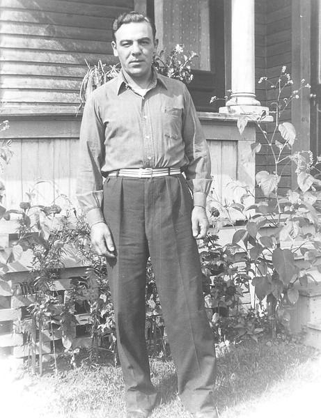"Summer 1936: Eugene ""Chick ""Bontempi, Strong Ave. Northampton MA"