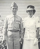 1942: Bernard A. Begin -U.S. Army, his sister Alice Begin U.S. Marine Corps. Florence MA
