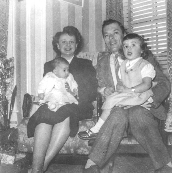 Dec. 25, 1950: Bernie & Lena Begin with Shelley 3 months, Judy 2 years