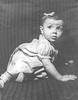 """Carolyn Bontempi, infant daughter of Helen Hamm and Armand Bontempi. Died at 1 1/2 years old"""