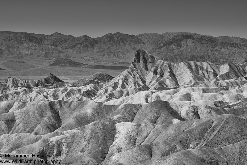 Zabriskie Point - Amargosa Range  Death Valley National Park, CA