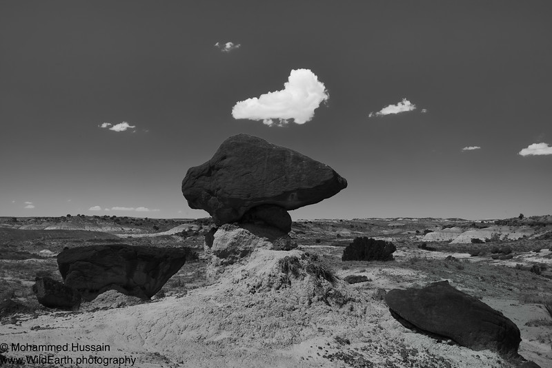 Bisti Balanced Rocks - Bisti/De-Na-Zin Wilderness, NM.