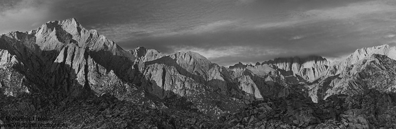 High Sierra - Sierra Nevada Mountain Range, Lone Pine, CA