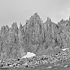Eroded Spires - Mount Sneffels (14,158 feet (4,315m)) Southwest Ridge - Mount Sneffels Wilderness Area, Ouray, CO