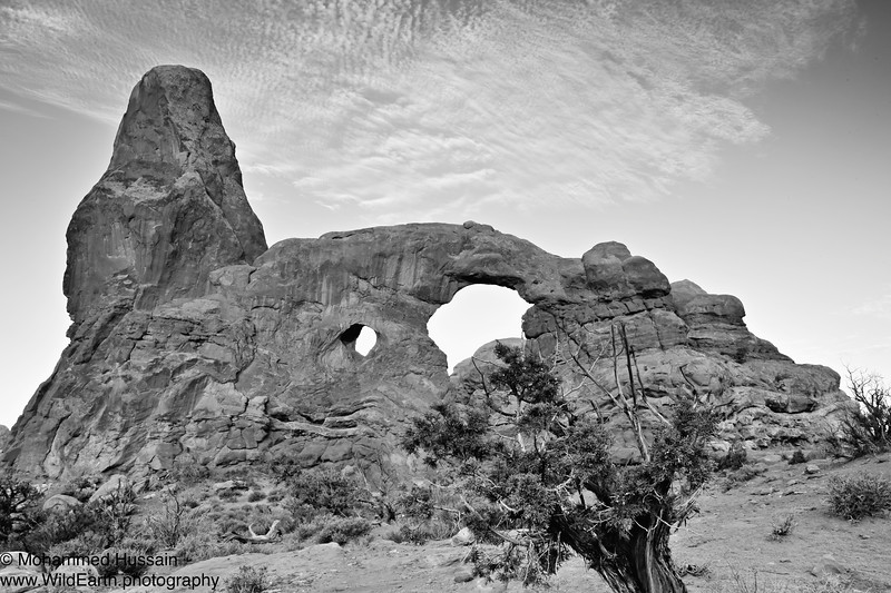 Turret Arch - Arches National Park, Moab, UT