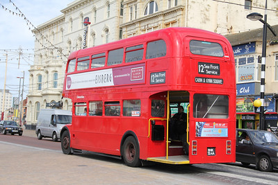 Classic Bus Blackpool BNK324A Promenade Blackpool 2 Sep 12