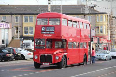 Classic Bus Blackpool 202UXJ Promenade Blackpool 2 Sep 12