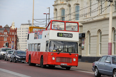 Classic Bus Blackpool DCA528X Promenade Blackpool 2 Sep 12