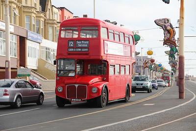 Classic Bus Blackpool BNK324A Promenade Blackpool 3 Sep 12