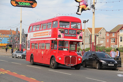 Classic Bus Blackpool JJD391D Pleasure Beach Blackpool Sep 12