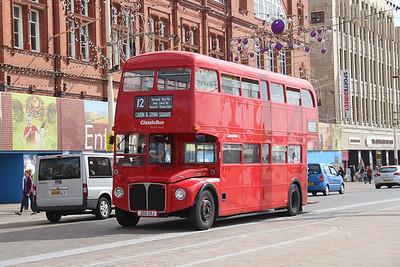 Classic Bus Blackpool 202UXJ Promenade Blackpool 1 Sep 12