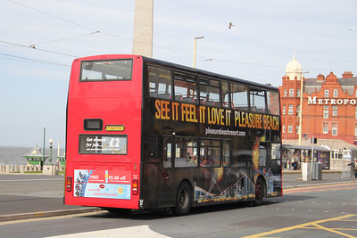 Classic Bus Blackpool P269PSX Promenade Blackpool 2 Sep 12