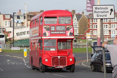 Classic Bus Blackpool JJD391D Gynn Square Blackpool 2 Sep 12