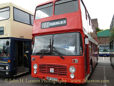 Potteries Motor Traction #677 1977 - Bristol VR with Eastern Coachworks Body