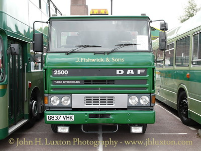 J. Fishwick & Sons DAF recovery vehicle