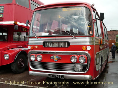 Lancashire United Transport Leyland Leopard of 1966