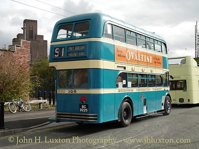 Birkenhead Corporation Transport #105 1946 Leyland PD1/1 with Massey Body.