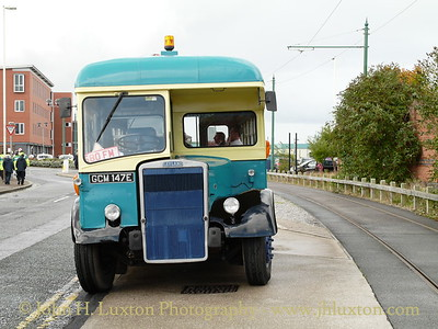 Ex Birkenhead Corporation Leyland Titan towing vehicle GCM147E