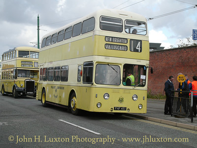 Wallasey Corporation Motors 1958 Leyland Atlantean #1. Metro Cammell body work.