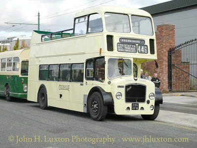 1960 Bristol Lodekka with Easter Coachworks body. Crosville Motor Services DLG95D