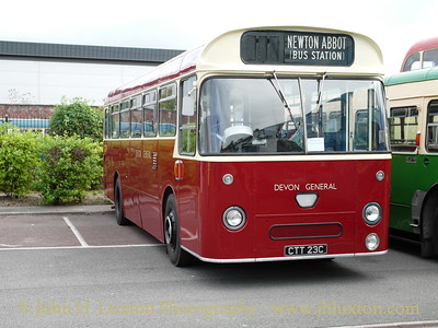 Devon General Omnibus & Touring Company AEC Reliance with Park Royal body of 1965.