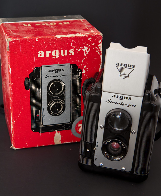 "The Argus 75 is a simple camera, fixed focus, single shutter speed and a fixed aperture, a ""point and shoot"" camera in all respects.   In some ways it's somewhat freeing, with no exposure controls it's simply release the shutter and hope for the best."