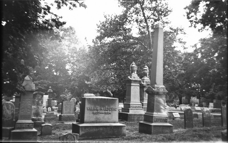 There's something about the old cemeteries that always makes me think.  Take William here, he lived through both the Civil War and WWI.  During his lifetime the frontier was closed, for most of his life electricity was a rarity, he might have never lived in a house with it.  For much of his life flight was just a dream, yet he lived to see the invention of airplanes.  There is even a chance he knew the Wright Brothers who lived and worked here in Dayton.