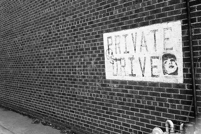 Private Drive<br /> <br /> Shot on FP4+, developed in Clayton F76+