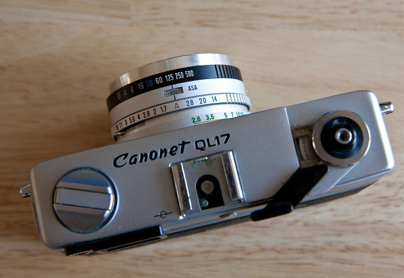 More shots with my Canonet QL17 GIII, one of my favorite small cameras.