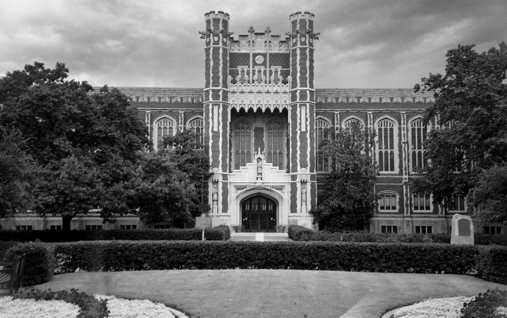 Bizzell Library, built in 1929, it is one of the more interesting buildings on campus.