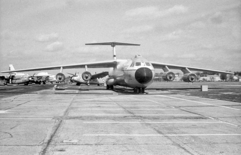 C-131 Starlifter, this particular plane is the famous Hanoi Taxi, which brought home POWs from Vietnam at the end of the war
