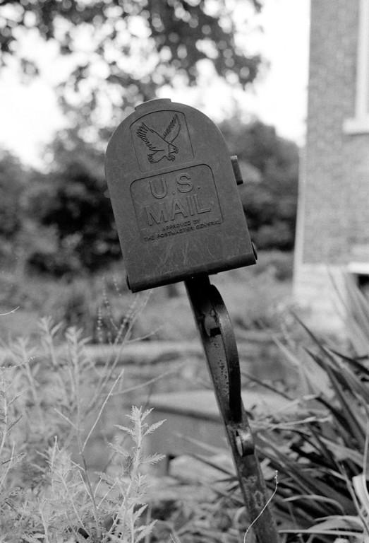 Crooked mailbox