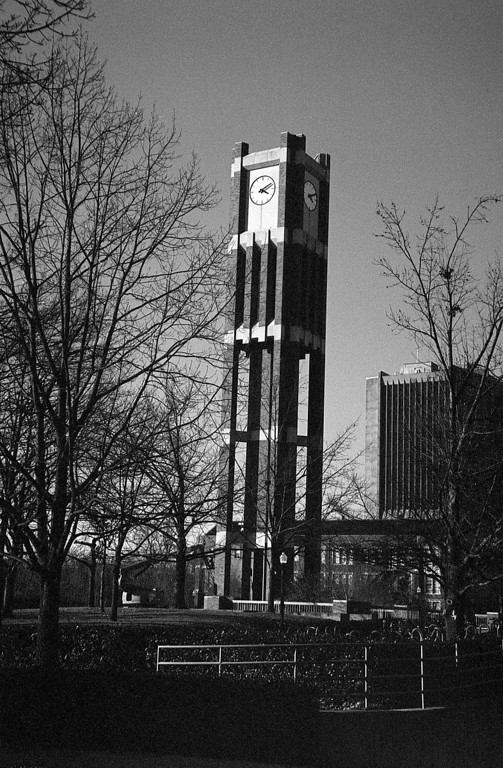 Yet another photo of the OU clocktower.