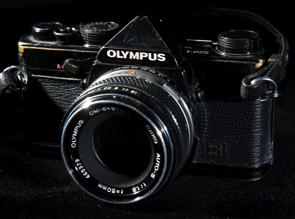 It's hard to find a camera that is more classic than the Olympus OM-1.  It's solid yet compact, a true workhorse that demonstrated that a professional camera did not have to be a large, bulky thing.    If I need to use a camera that can take some abuse, this is the one that I'll reach for.