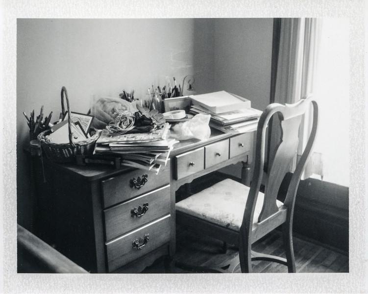 Overloaded desk