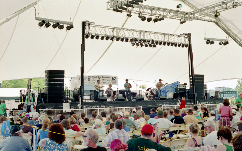 The Celtic Festival is one of the larger events held in Dayton, with a number of different bands playing pretty much around the clock.