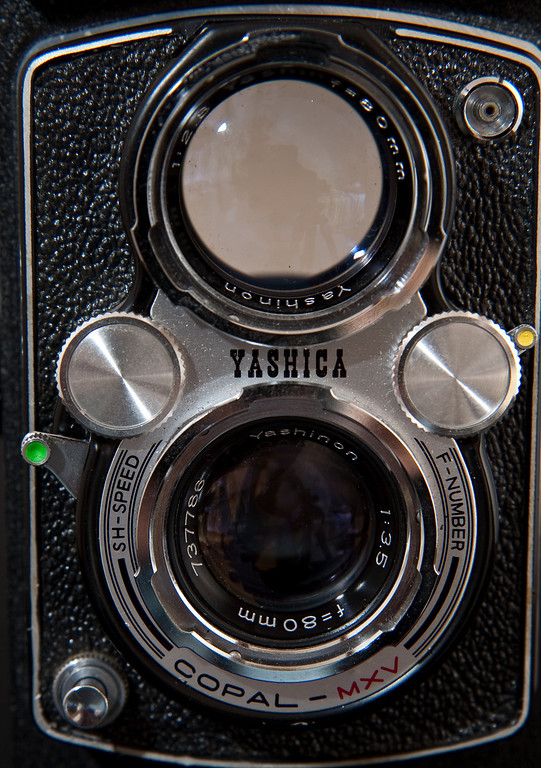When I purchased this camera several years ago at a camera show, there was an old roll of Kodak Gold 100 film in it.  I finally got around to getting it processed.  Part of the roll had been exposed, but a few images were salvageable.