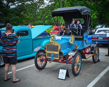 1906 Maxwell Touring Car in Color 103.2137
