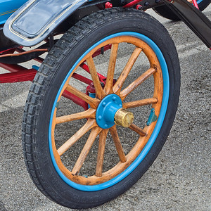 1906 Maxwell Touring Car in Color 105.2137