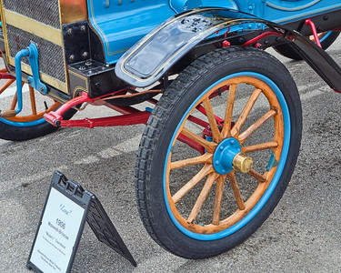 1906 Maxwell Touring Car in Color 104.2137