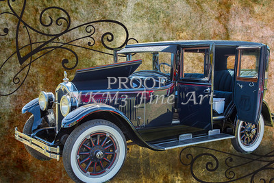 Classic Car 1924 Buick Duchess Canvas Print 104