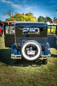 Back of 1924 Buick Duchess Classic Car 117