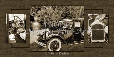 Collage 1924 Buick Duchess Classic Car 121