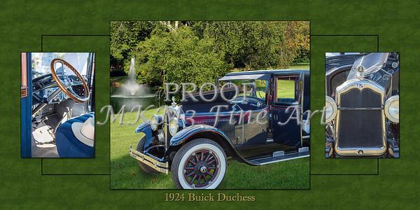 1924 Buick Duchess Classic Car Art Photographs