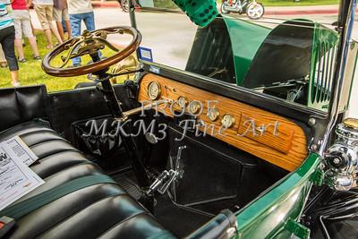 1924 Ford Model T Touring Inside 5509.012