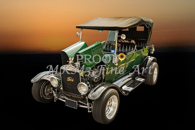1924 Ford Model T Touring Classic Car 5509.003