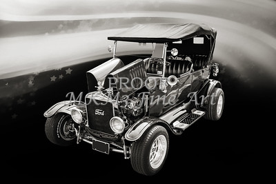 Wall Art 1924 Ford Model T Touring 5509.205
