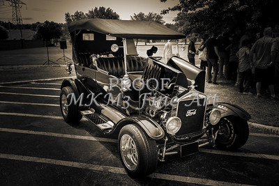 1924 Ford Model T Touring Canvas Print 5509.207