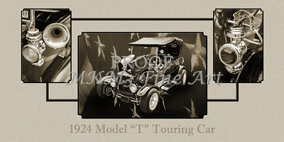 1924 Ford Model T Touring Sepia 5509.201